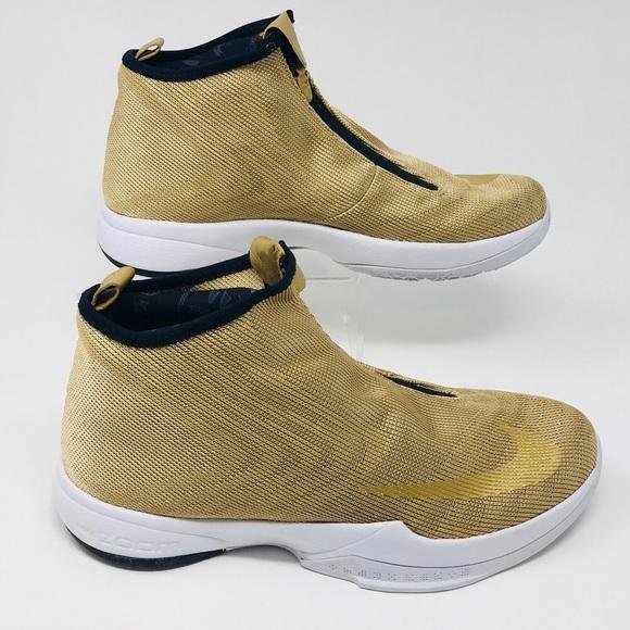 separation shoes 36824 46fc6 Nike Zoom Kobe Icon Jacquard Gold Mens Sz 10. M 5b529ac89e6b5b5a94a8bbf2